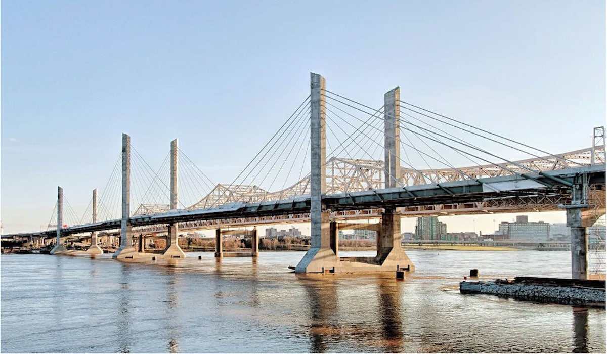 innovative cable-stayed bridge