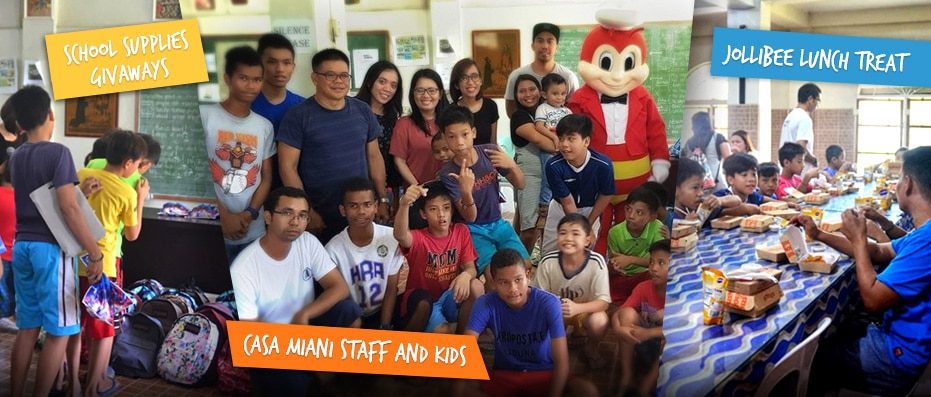 Outreach Program – Casa Miani Sto Niño