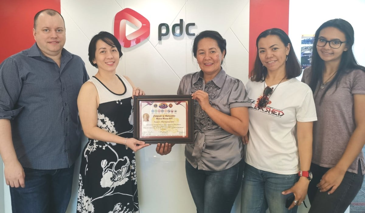 PDC Support PAALC's Medical Mission