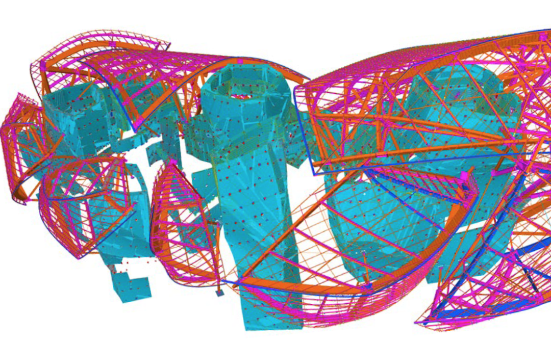 Tekla Software in Practice: Fondation Louis Vuitton