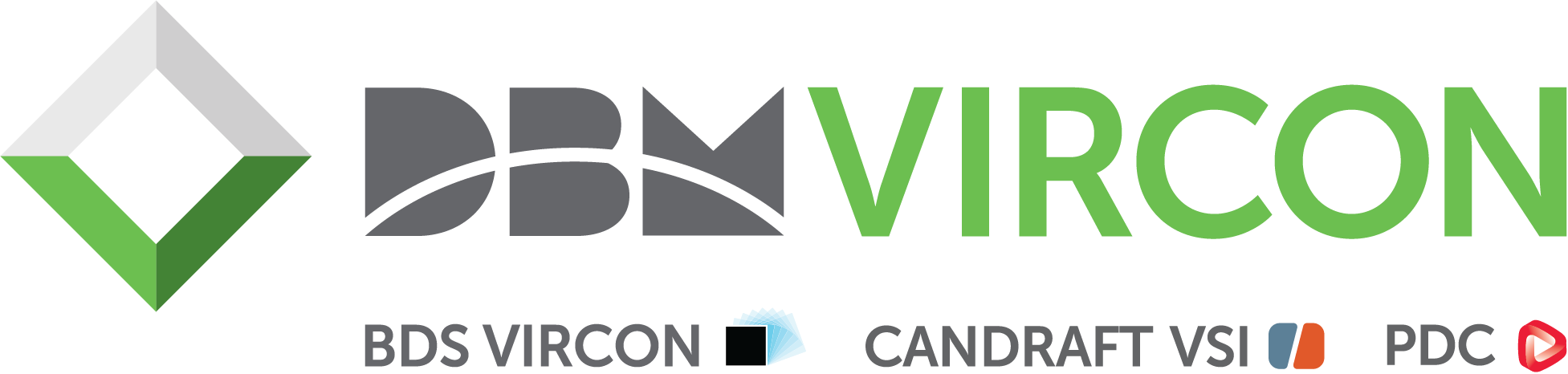 DBM Vircon – Rebrand of PDC Group, BDS Vircon & CandraftVSI