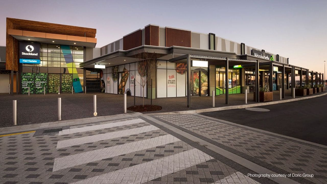 Civil Design Services for Stockland Harrisdale Shopping Centre Project