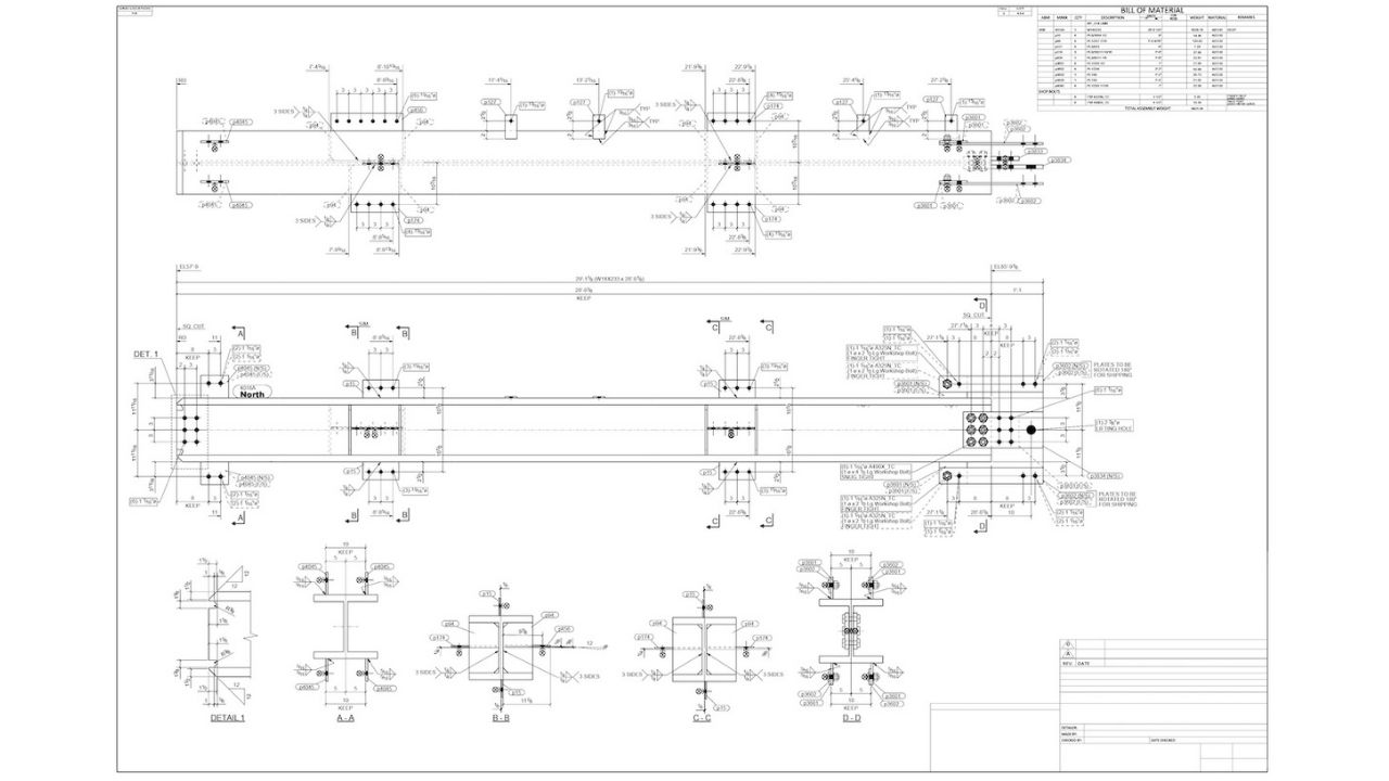 Shop Drawing 2 - 5293A_0 Hero|The Difference Between Design Drawings and Shop Drawings 1|The Difference Between Design Drawings and Shop Drawings 2|Design Drawings - The Difference Between Design Drawings and Shop Drawings 1|Shop Drawings - The Difference Between Design Drawings and Shop Drawings 2